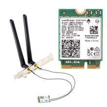 Wireless-Adapter Desktop-Kit Network-Card Bluetooth Intel Ax201 Wifi 6 Dual-Band