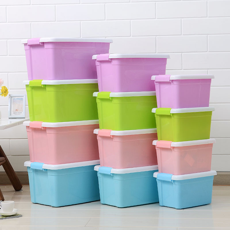 Hand With Cap Plastic Storage Box Household Clothes Toy Finishing Box Snacks Debris Storage Organizing Storage Box