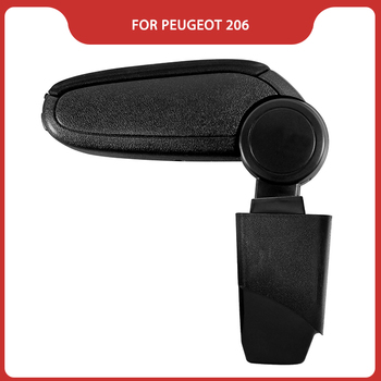 Free Shipping FOR PEUGEOT 206 Car ARMREST,Car Interior Accessories Auto Parts Center Armrest Storage Console Box Arm Rest