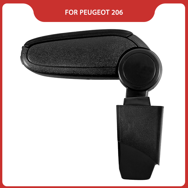 Free Shipping FOR <font><b>PEUGEOT</b></font> <font><b>206</b></font> Car <font><b>ARMREST</b></font>,Car Interior Accessories Auto Parts Center <font><b>Armrest</b></font> Storage Console Box Arm Rest image
