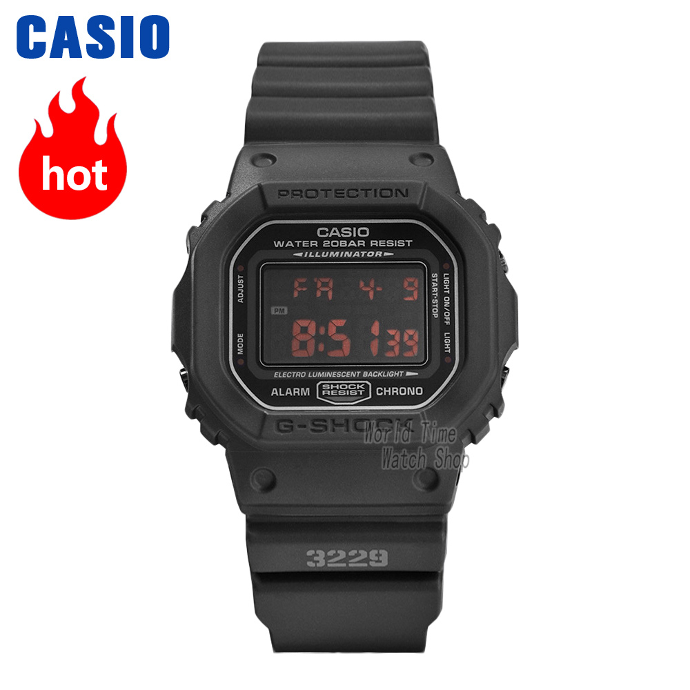 Casio watch G-SHOCK Men's quartz sports watch trend square dial waterproof g shock Watch DW-5600