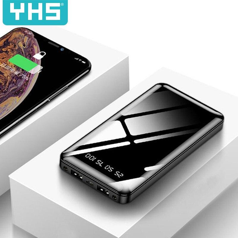 30000 мАч Внешний аккумулятор портативное зарядное устройство 20000 мАч Внешний аккумулятор зарядное устройство для Xiaomi Mi 9 iPhone 11 Max