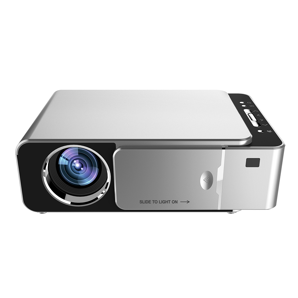 Proyector Full HD de resolución 1280x720 Mini proyector de cine de vídeo doméstico LED El proyector inteligente XGIMI Z6 Polar 1080P Full HD 700 lúmenes Ansi LED DLP Mini proyector Android 6,0 Wifi Bluetooth inteligente casa Teat