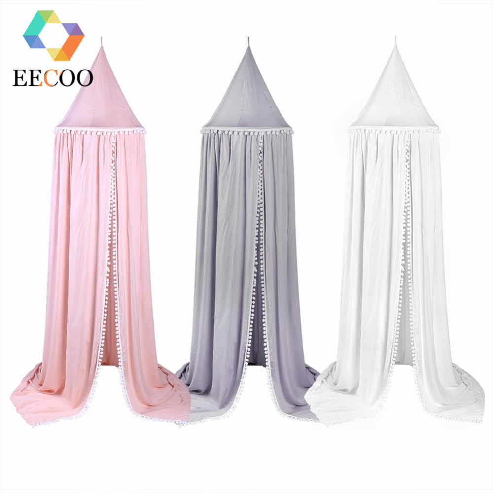Anti Mosquito Cotton Baby Canopy Mosquito Net Princess Bed Canopy Girls Room Decoration Bed Canopy Pest control Reject Net