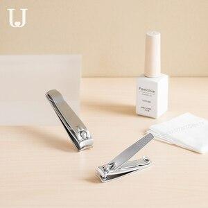 Image 4 - 2020 Youpin JordanJudy кусачки для ногтей из углеродистой стали с крышкой против брызг триммер для педикюра кусачки для ногтей профессиональная пилка