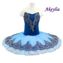 Blue Bird ballet TUTU,Adult Classical ballet tutus ,Black Swan lake skirt tutu Professional Ballet Tutu pancake for child