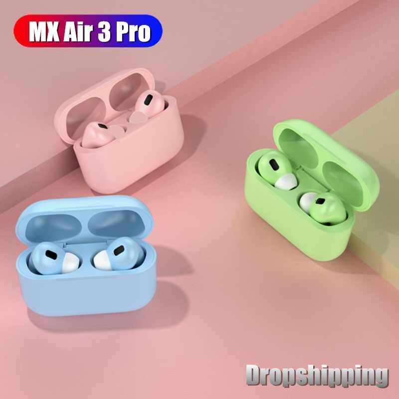 Mx Air 3 Pro Bluetooth Oortelefoon Draadloze Hifi Hoofdtelefoon Ruisonderdrukking Oordopjes Voor Iphone Xiaomi Redmi Samsung Headset Case