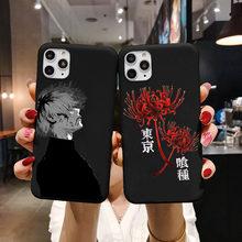 Ghoul-funda de teléfono de TPU para iPhone, carcasa trasera de anime japonés para iPhone XR X XS 11 12 Mini Pro Max 7 8 6 6S SE