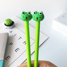 20 PCs Creative Cute Hipster Water Pen 0.5mm Black Students Gift Frog Neutral