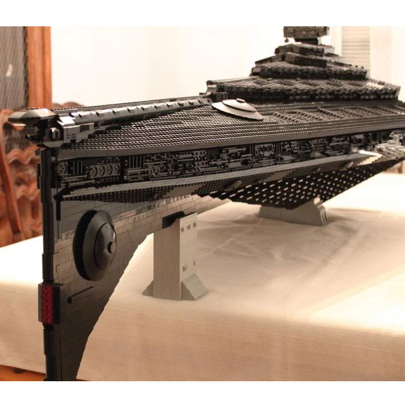 Star Toys Wars Building Blocks Compatible With Legoing UCS Dreadnought Star Destroyer Assembly Model Kits Kids Christmas Gifts 4
