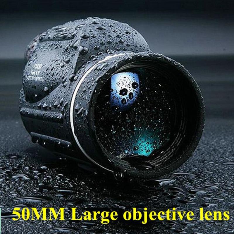 High For Lll Waterproof High Binoculars Zoom Vision Bird Telescope Watching Monocular Power 30X50 HD Hunting 10 Quality Night