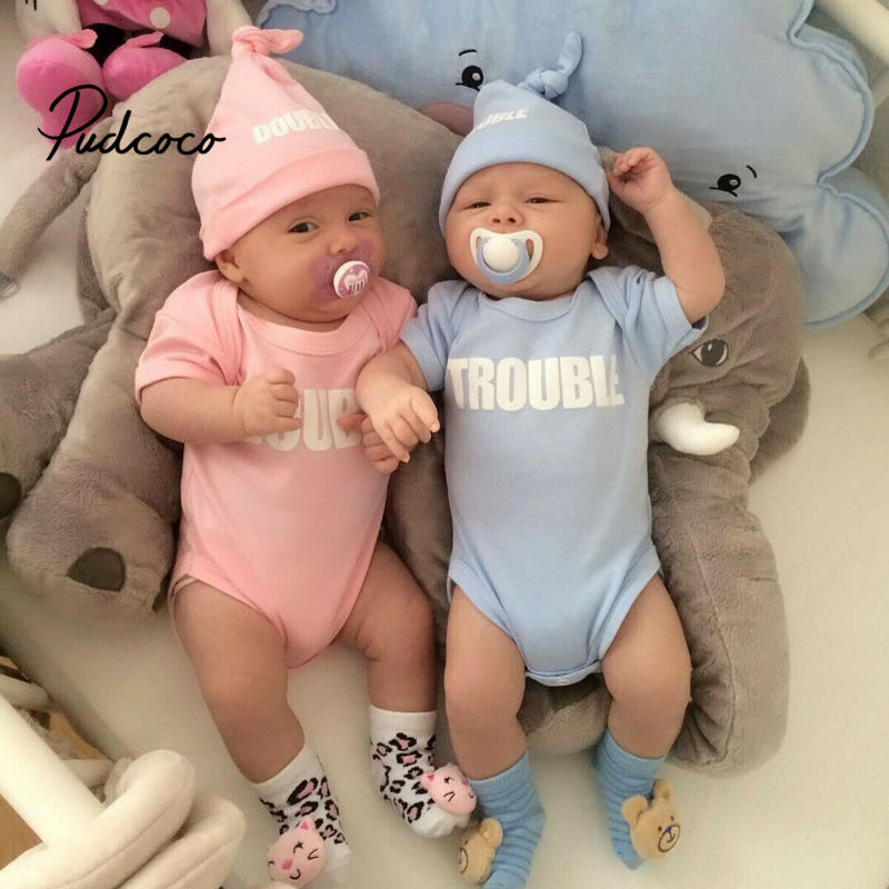 Culbutomind Long Sleeve Fashion Baby Twins Baby Girl Clothing Sets Infant Baby B
