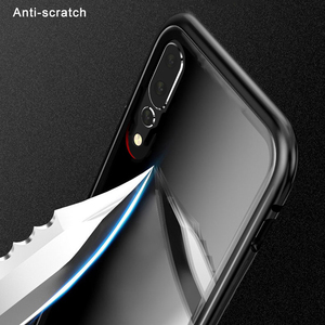 Image 4 - 360 magnetische Adsorption Flip Telefon Fall auf Für Huawei Ehre 9X 20 Pro 20 Lite 10 Licht Zurück Abdeckung Für honer 9 X X9 Honor9X Fällen