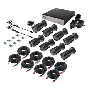 Image 5 - ZOSI 8CH Home Security กล้องระบบ 1080N HDMI TVI DVR 8PCS 720P/1.0MP กล้องวงจรปิดวิดีโอ surveillance DVR Kit