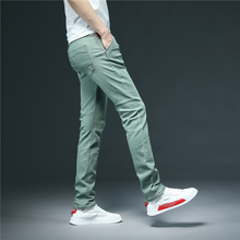 Slim Jeans Summer Stretch Classic Men's Fashion Cotton Is That And Youth Spring Brand