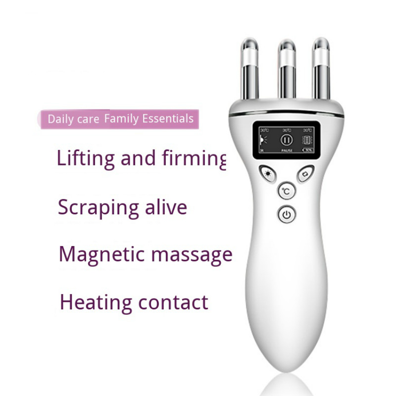 Multifunction Body Massager guasha scraping Magnetic massager Face heating instrument Massage For Neck leg foot health care