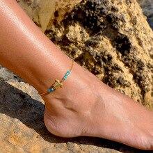 New New Tortoise Bracelet For Women Charm Beads Anklet Bracelet Fashion Gold Jewelry Gifts стоимость