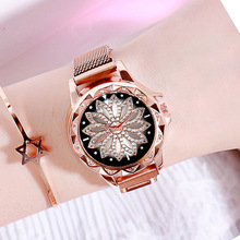Luxury Quartz Women Watch New Brand Womens Clock Flower Top Female WristWatches Waterproof Ladies Dress Relogio Feminino