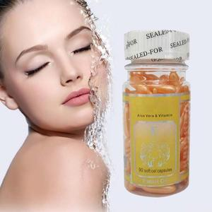 90pcs/bottle VE Brighting Serum Vitamin E Capsules Whitening Spot Acne Print Facial Freckle Cream New