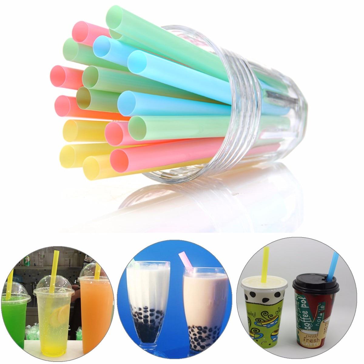 100 шт., пластиковые аксессуары для коктейлей, 15 х1 см