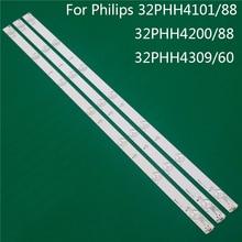 TV Éclairage Pour Philips 32PHH4101/88 32PHH4200/88 32PHH4309/60 BARRE DE LED Bande de Rétro Éclairage Ligne Règle GJ 2K15 D2P5 D307 V1 V1.1