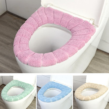 Household Toilet Seat Cushion Nordic Style Cover Padded Warm Universal