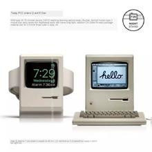 Компактная док-станция для зарядного устройства в стиле ретро, подставка для Apple Watch серии 1/2, 38 мм, 42 мм, 40 мм, 44 мм, док-станция для зарядки, нас...