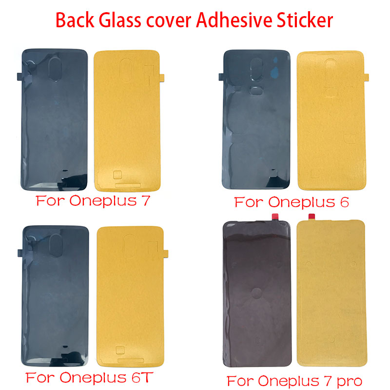 New For Oneplus 6 6T 7 Pro Back Adhesive Tape Glue Sticker Replacement Parts image
