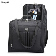 Multifunctional Men Business Travel Bag Waterproof Luggage Bags Laptop Handbag Dust-proof Suit Costume Bag With Shoes Pouch