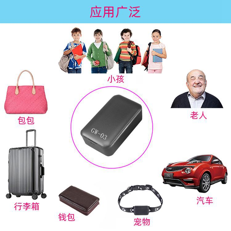 Waterproof bluetooth anti-lost GPS tracking device remote personal small car car remote GPS vehicle wireless locator