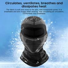 Outdoor Hiking Scarf Sunscreen Mask Breathable Cycling Mask For The Face Men Cycling Ice Face Mask Reusable Bicycle Equipment