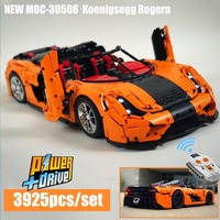 2019 new moc 30506 Technic RC Koenigsegg Regera PDF Instructions Building Blocks Toy Kit DIY Educational Children Birthday Gift