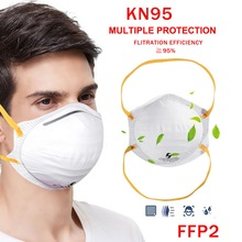 US 10/50Pc KN95 Dust Masks Wholesale Dropshipping N95 Respirator Air Filter Gas Mask Safety Protective kf94 ffp3 Face Mouth Mask