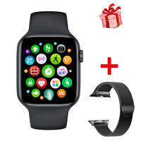 2020 IWO 12 W26 Bluetooth Call Smart Watch Series 6 1.75 Inch Full Touch Screen ECG PPG Heart Rate Monitor Smartwatch IWO 13