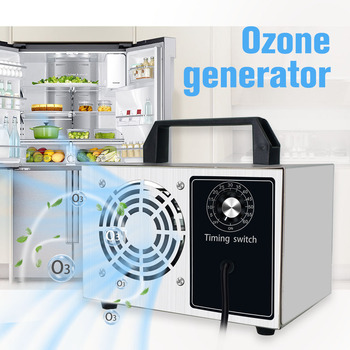 цена на 20g/24g/28g Ozone Generator 220v Portable Ozonizer Air Water Purifier Sterilizer Treatment Ozone Remove Formaldehyde With Timer
