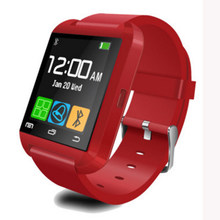 Fashional U8 Smart Watch Bluetooth Smartwatch U8 untuk iPhone 6/5 S Samsung S6/Note 4 HTC Android ponsel Smartphone Android(China)