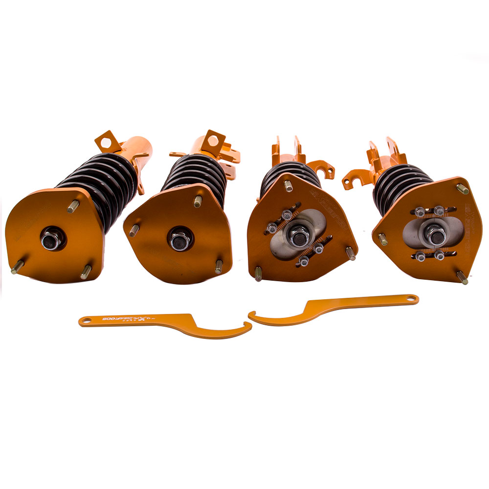 Full Coilovers Suspensions Kit for <font><b>Toyota</b></font> <font><b>Corolla</b></font> AE100 <font><b>AE101</b></font> AE111 Shock Absorber Spring Camber Plate image