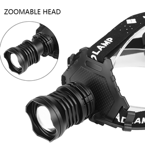 Image 5 - Most Powerful XHP90.2 Led Headlamp 8000LM Head lamp USB Rechargeable Headlight Waterproof Zooma Fishing Light Use 18650 Battery