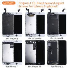 цена на Grade AAA+++ LCD New all original  screen Display For iPhone 6S 7 8 Plus Original LCD Display Touch Screen Digitizer