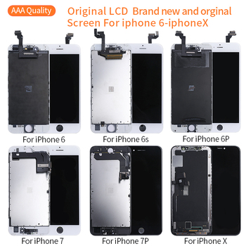 цена на Grade AAA+++ LCD New all original  screen Display For iPhone6S 7 8 Plus Original LCD Display Touch Screen Digitizer