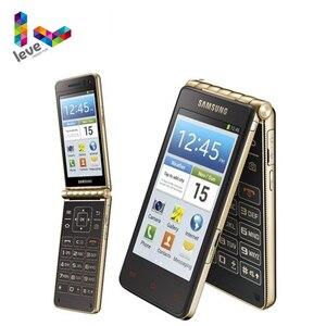 Смартфон Samsung Galaxy Golden I9235, разблокированный телефон-раскладушка, HK Version, 3,7 дюйма, 1,5 Гб ОЗУ, 16 Гб ПЗУ, двухъядерный процессор, 8 Мп, 4G, LTE, на базе Android