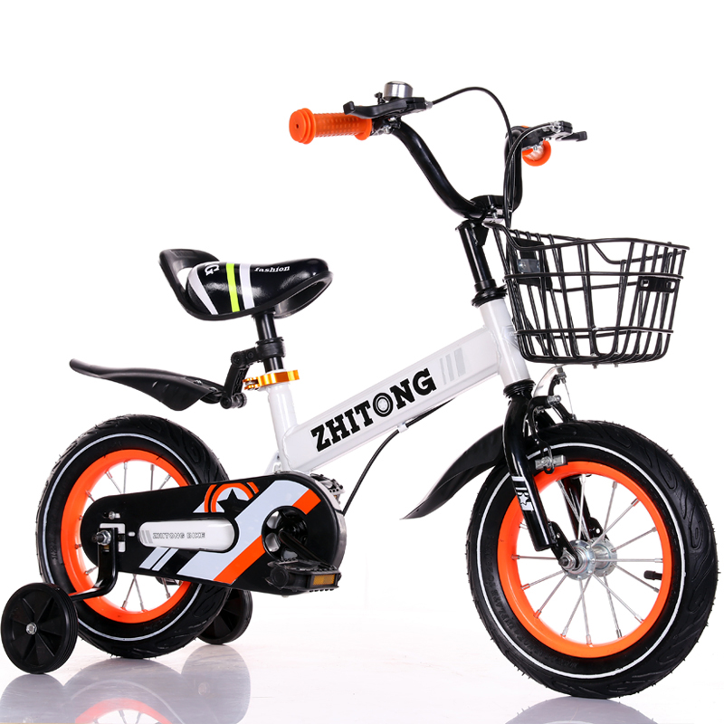 12 /14 /16 inch Children's bicycle with auxiliary wheel Bike boy and girl bicycle Multi-color optional kid's bike
