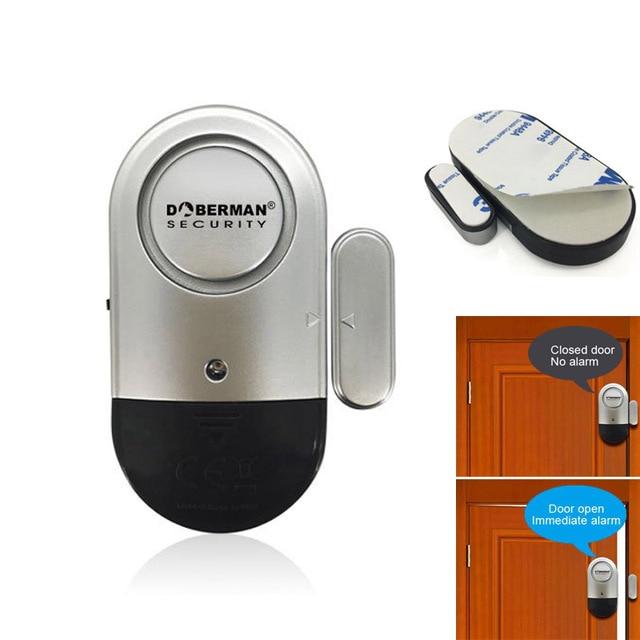 Détecteur de capteur magnétique fenêtre | Porte sans fil, sirène dalarme, sécurité pour maison intelligente FKU66