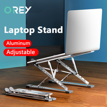 Adjustable Laptop Stand Aluminum For Macbook Foldable Computer PC Tablet Support Notebook Stand Table Cooling pad Laptop Holder