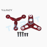 Tarot RC three leaf folding paddle holder black TL100B18 red TL100B17 for symmetrical screw hole center distance 12mm motor|Parts & Accessories| |  -