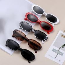 Women Small Frame fashion Sunglasses UV400 Sun Shades Eyewear Vintage Cat Eye Sun Glasses Simple For Mountaineering Fishing