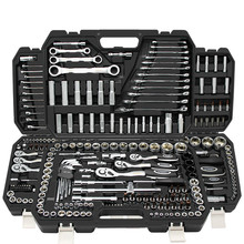 Auto repair toolbox, auto repair and maintenance socket wrench, German multi-function socket combination toolbox tools set