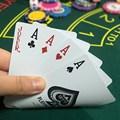 2 pces cartões de poker plástico 100% à prova dwaterproof água durável texas holdem poker blackjack cartões pro jogo de jogo família festa em casa jogos