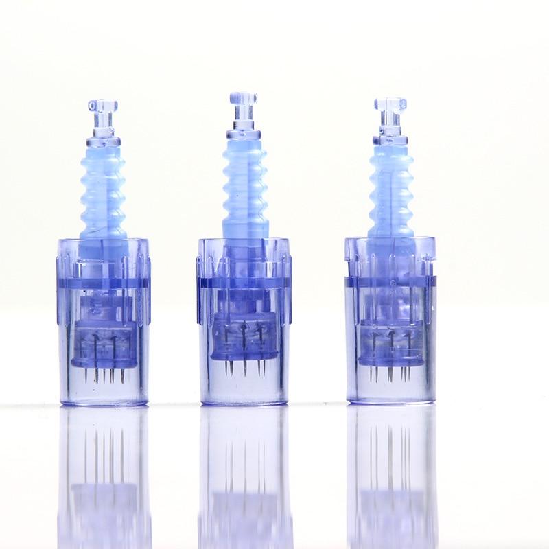 Microneedling Needle Cartridge For Derma A6 Nano 12 Pin/36 Pin Micro Needle Replacement Head Derma Pen Tattoo Tip Replacement