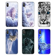 Für Samsung Galaxy A5 A6 A7 A8 A9 J4 J5 J7 J8 2017 2018 Plus Prime Handy Fall Dreieck blue Eye Schnee Leopard Tier Tiger(China)